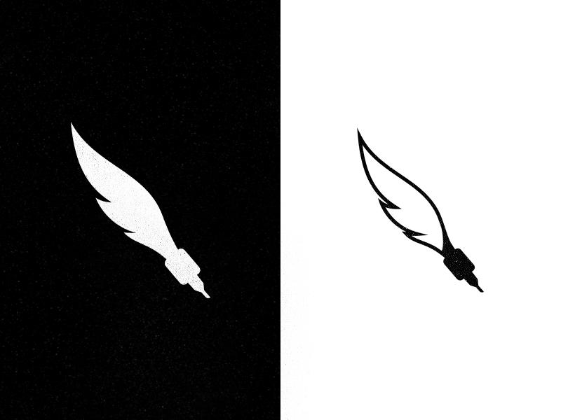 unused tattoo artist logo by tam225s moroz dribbble