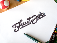The Fruit Job Logo - V2