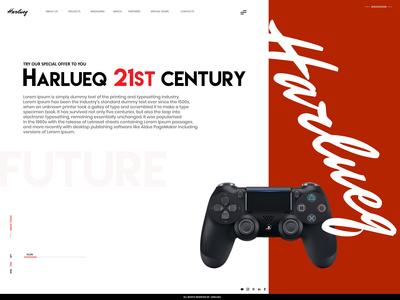 Harlueq Website