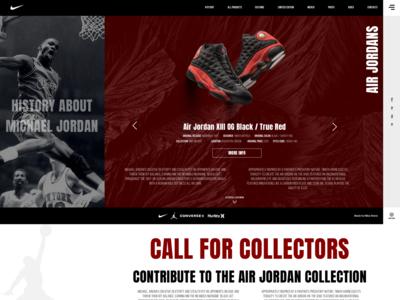 Rebuild  Jordans website