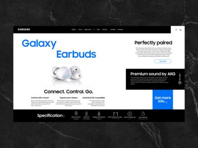 Samsung Websites Rebuild.