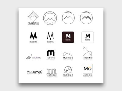 Mudrinic Logo ui illustration branding logo design
