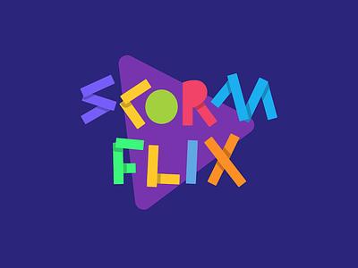Scormflix - Logo Animation logotype score learning education logo logodesign logo vector illustration design animation