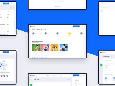 Uservox - Project Screens preview survey coca cola ui survey app interaction design clean graphic  design ux online app interaction animation gif design animation