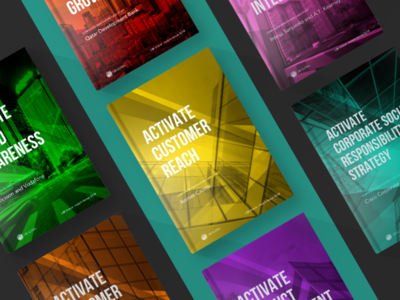 Brochure Pack book cover report design cover book book brochure design