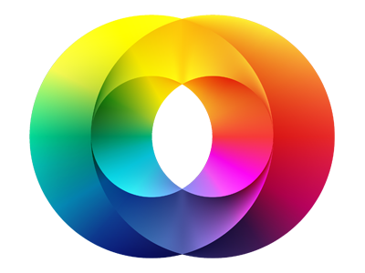 Phidelity Icon icon logo phi color golden ratio