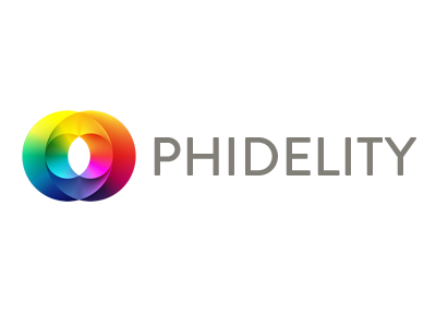 Phidelity Logo logo color brandon grotesque golden ratio