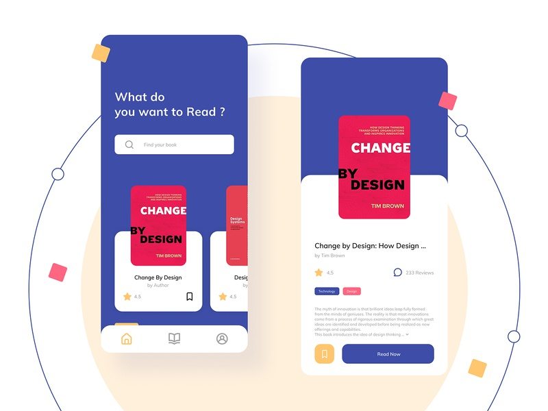 Book App exploration explore flat design mobile ui mobile app simple dailyui designer book app book app branding ux minimal illustration mobile design mobile ui uiux design