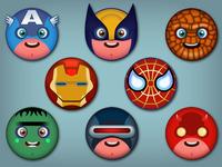 superheroes smiles