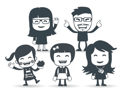 The UX Team team avatar ux characters