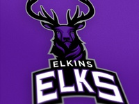 Elkins Elks Athletic Logo