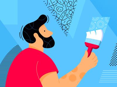 Graphic Design Patterns Illustration