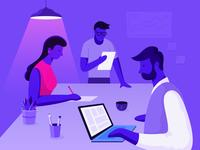 Team Invite Illustration