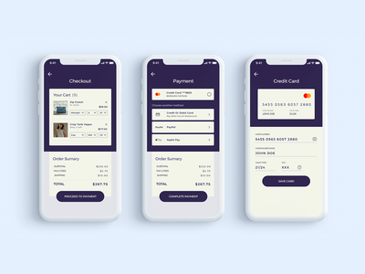 Checkout experience for Vegan Store credit card form credit card checkout payment form payment method shopping cart shopping app ecommerce app checkout daily ui 002 dailyui app design