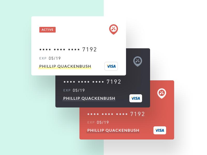 Discover App – Credit Cards payment mobile menu ios credit card app