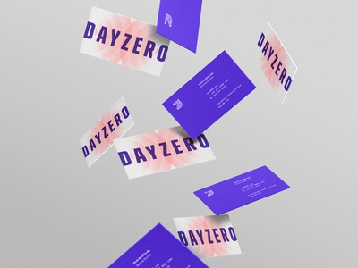 dz stationery riff logo branding business cards