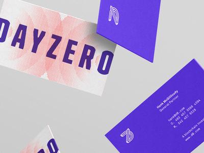 dz stationery riff logo branding business cards