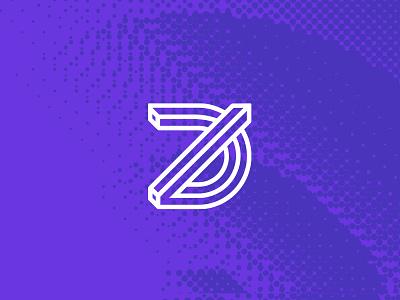 Mk. 0 outlines lines monogram mark logo branding