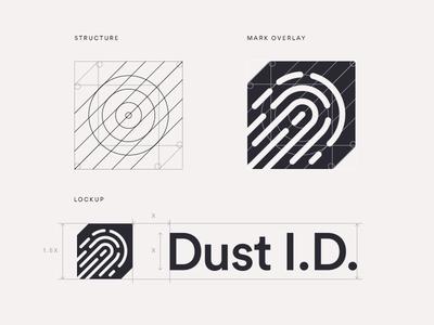 Dust v1 symbol mark branding logo