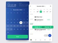 Calendar + Date Range Popover