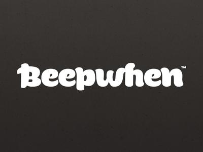 WIP Beepwhen logotype