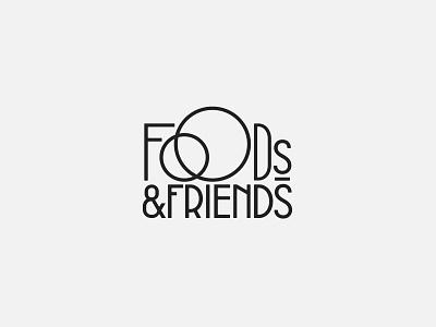 Foods & Friends branding design brand identity brand design branding brand illustrator logos logodesign logotype logo design logo