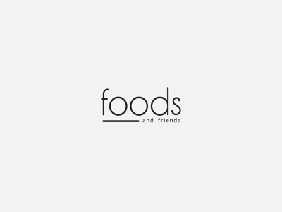 Logo Design for Foods and freinds healthy lifestyle healthy eating healthy food healthyfood healthy food app food logotype logos logo design logodesign logo branding design branding design brand identity brand design brand