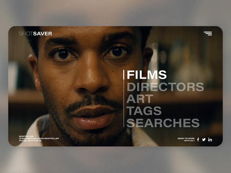 Shot Saver Landing Page - Melon.studio branding logo design www.dailyui.co ui design uidesign ui  ux uiux ios ui movie poster movies movie website design web design webdesign website web www