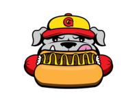 Georgetown Half-Smokes Dog Logo