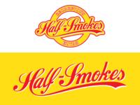 Georgetown Half-Smokes Roundel/Wordmark