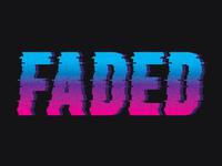 Faded Wordmark