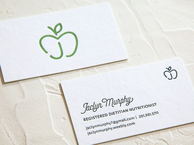 Nutritionist Logo Design Business Cards By Jeanette Pidi