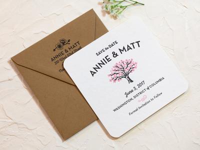 Annie & Matt Save-the-Dates
