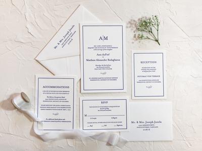 Annie & Matt Wedding Invitations