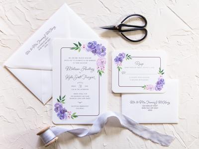 Melissa & Kyle Wedding Invitations