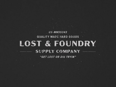 Lost & Foundry Logo