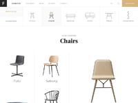 Desktop furniture chairs