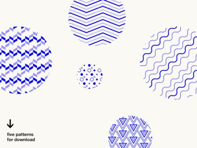 Five patterns