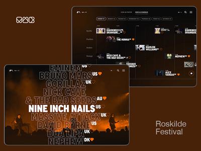 mwb.studio — Roskilde Festival