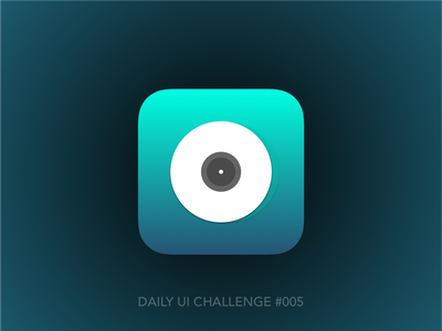 Daily UI Challenge #005 records music app design dailyui
