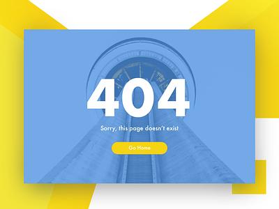 Daily UI Challenge #008 dailyui008 toronto designer ux  ui ux interactiondesign dailyui error404