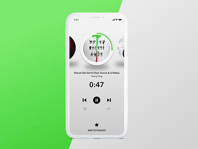Daily UI Challenge #009 ux music dailyui009 dailyui musicplayer