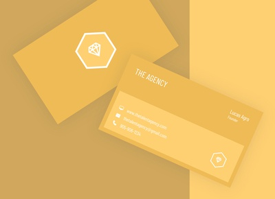 Agency Business Card Design
