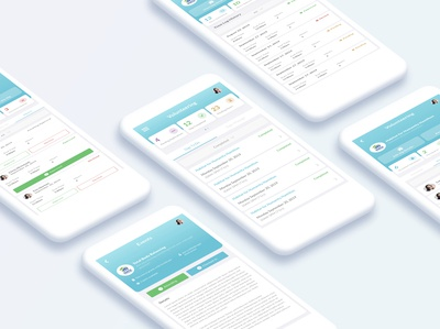 UI Design for Volunteering Application for Students
