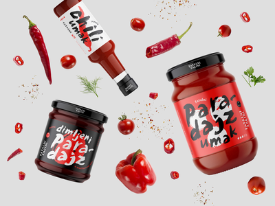 Fatal Spices — Products food product smoked sauce tomato chili pepper spicy packaging handwritten branding logo identity design