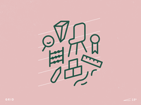 Pictograms: New Classroom — Grid