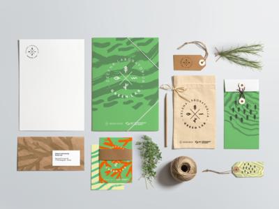 Green Lab — Stationery