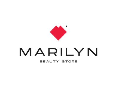 Marilyn Beauty Store Logo