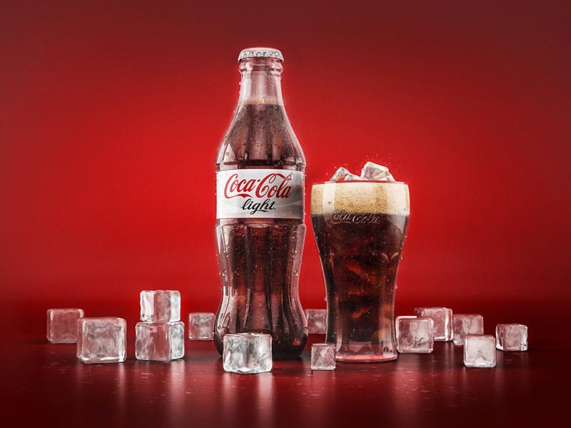 Coca-Cola | CG by Moataz El Sayed on Dribbble