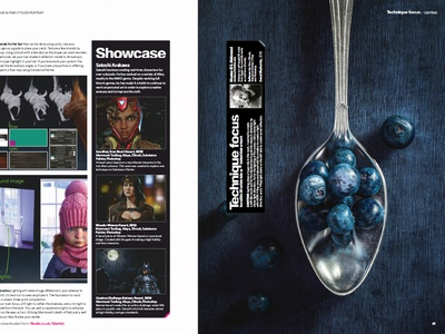 Featured in 3D Artist Magazine 129
